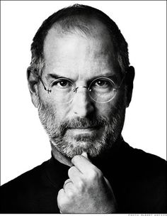Steve Jobs - Breaking moulds.   Albert Watson - Quality and innovation.   Like minded then.