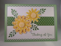Handmade-Card-FLOWER-PATCH-Stampin-up-THINKING-OF-YOU-Floral-5x7-Blank-or-add