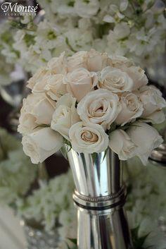 White Baby Roses