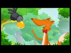 Le Corbeau et le Renard. Goes with La Fontaine Unit French Songs, French Movies, French Teacher, Teaching French, Les Fables, French Kids, Film D, French Education, Core French