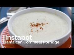 This Instant Pot Jamaican cornmeal porridge is an easy and delicious way to eat breakfast in the morning. Enjoy this hands free way to prepare breakfast.