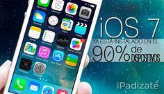El 90% de los iPad, iPhone y iPod ya Cuentan con iOS 7, según Apple Ipod, Ipods