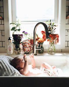 Un bain de douceur!!