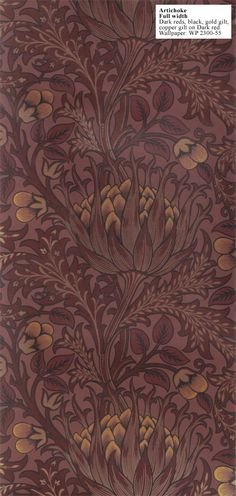 Wm. Morris wallpaper/fabric - artichoke