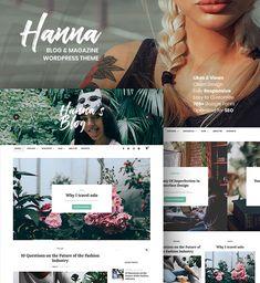 Hanna - A Beautiful WordPress Blogging Theme