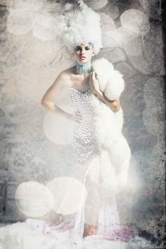 Gorgeous photo by Lou Freeman. Watch her creativeLIVE course on Lighting for Glamour & Boudoir Photography.