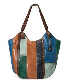 Take a look at this Blue Stripe Indio Tote by The Sak on #zulily today! $120 !!