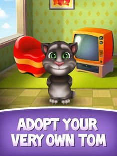My Talking Tom App by Out Fit 7 Ltd. Talking friends apps.
