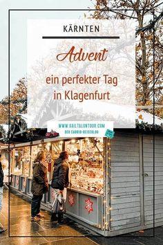 Ein perfekter Tag in Klagenfurt in der #Weihnachtszeit. Was kannst du im Advent in #Klagenfurt erleben? Begleite mich auf meinem Tag durch die Landeshauptstadt von #Kärnten