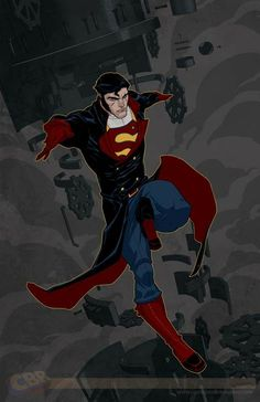 Steampunk Superman. I didn't think I could love Supe any more than I do...