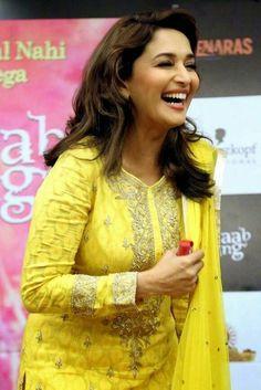 Prettiest Actresses, Beautiful Actresses, Bollywood Actress Hot Photos, Actress Photos, Bollywood Saree, Bollywood Fashion, Bollywood Girls, Madhuri Dixit Saree, Sabyasachi