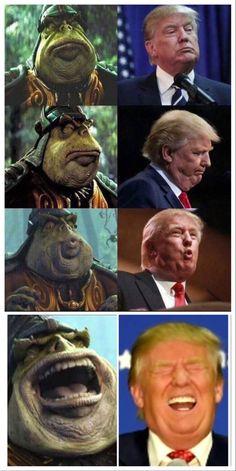 Breaking: Donald Trump a Gungan impostor! Illuminati confirmed!