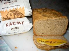 Pain d'épeautre et de seigle à la MAP (Machine A Pain) - Recette de cuisine Marmiton : une recette