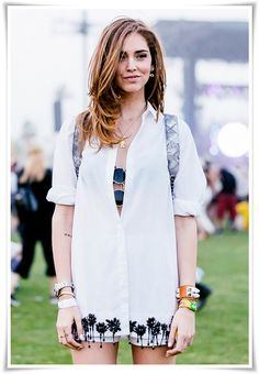 """  Chiara Ferragni shirt dress"""
