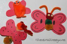 5 Valentine's Day Crafts #LoveBug Magnets