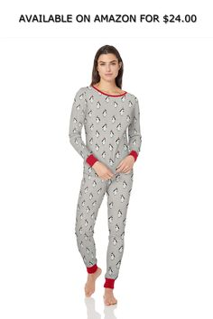 c15a8b6489 Amazon Essentials Women s Standard Close-Fit Knit Pajama Set ◇ AVAILABLE ON  AMAZON FOR   24.00 ◇ An Amazon brand - Get ready for cozy nights in these  soft ...