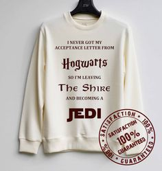 All my favorite nerdy stories on one sweater. Amazing!