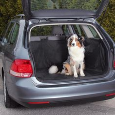 TRIXIE - Dog On Tour/Friends on Tour Car Accessories Car Boot Cover