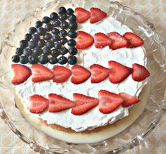 Pin for Later: 12 Fun Recipes That Show Your Love For the Red, White, and Blue Festive Tres Leches Cake Get the recipe: festive tres leches cake