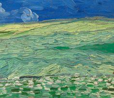 Wheatfield under Thunderclouds - Van Gogh Museum