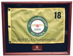 Golf Flag Frame | Golf Flag Case | Golf Flag Display