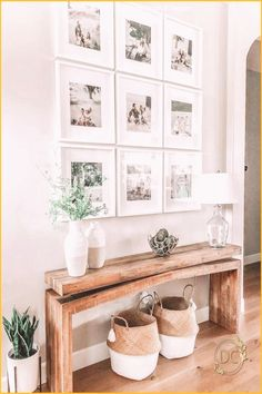 #Family #room #design #gallery #design Home Decor Styles modern farmhouse foyer design with rustic bench and wall gallery neutral farmhouse hallway decor upper fixing bench and wall decor in the family room neutral farmhouse decor  New IdeasHome Decor Styles  modern farmhouse foyer design with rustic bench and wall gallery neutral farmhouse hallway decor upper fixing bench and wall decor in the family room neutral farmhouse decor  New Ideasbrp classfirstletterYou are in the right place about… Home Decor Styles, Cheap Home Decor, Diy Home Decor, Hallway Wall Decor, Hallway Decorating, Entryway Decor, My Living Room, Living Room Decor, Cozy Living