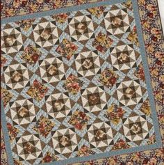 Autumn Glory Star Quilt-This easy star quilt pattern is a great project to get you quilting for autumn! The Autumn Glory Star Quilt incorporates traditional Ohio star blocks and fall leaves quilt fabric for a rustic piecework that reflects the warm colors of autumn. Make this quilt in a different color palette image: http://images.intellitxt.com/ast/adTypes/icon1.png  for other seasons. image…
