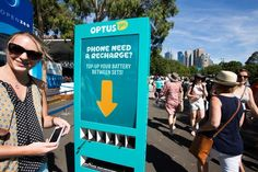 AUS OPEN 2016- Free charge stations