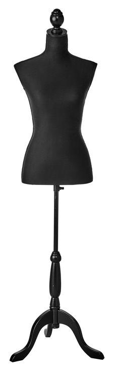 Mannequin en bois noir à placer dans votre dressing - BUT