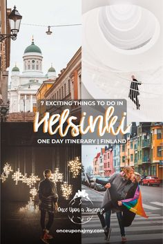 7 Exciting Things to do in One Day in Helsinki Wondering how to spend a day in Helsinki, Finland? Here are 7 Exciting Things to do in Helsinki including the best activities and top attractions in. Europe Travel Guide, Travel Guides, Traveling Tips, Travel Info, Asia Travel, Places To Travel, Travel Destinations, Finland Travel, Finland Trip