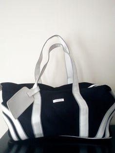 Vintage Preppy IZOD Gym Bag / Weekender Bag / Vintage Duffle Bag / Travel Bag / Unisex Sports Bag by JulesCristenVintage on Etsy