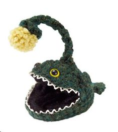 Crochet deep sea fish