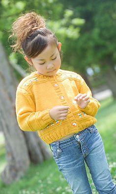 child's cardigan