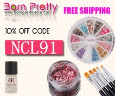 Use code NCL91 for 10% off your purchase at bornprettystore.com