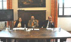 Puc2 Todi, la Presidente Marini e l'Assessore regionale Rometti  in visita al cantiere di Palazzo dei Priori