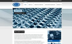 Web design for a screen and stencil printing equipment in New Jersey.