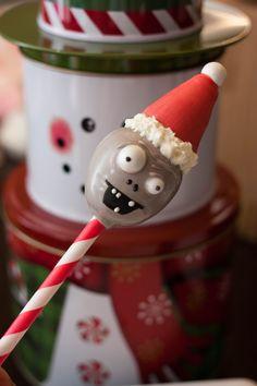 Santa Zombie Cake Pops   KC Bakes