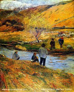 Paul Gauguin - Les Pêcheurs Bretons