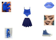 """Untitled #178"" by jacobsbae ❤ liked on Polyvore featuring Converse and Lime Crime"