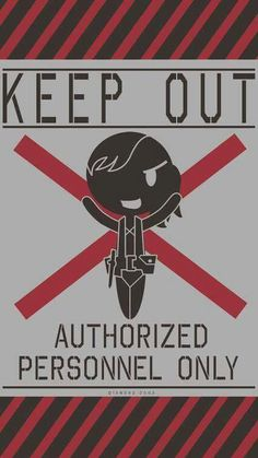 Quiet's Keep Out sign next to her cell - MGSV