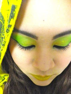 yellow green lipstick - photo #28