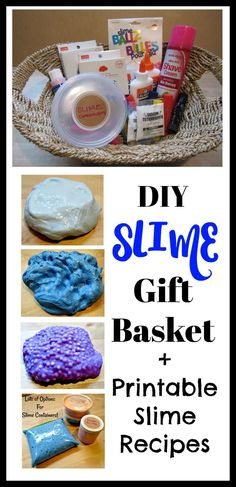 58d51e86dce40 Slime Kits - Gift Baskets (Parents  Everything Your Kids Want You To Know)    Printable Slime Recipes