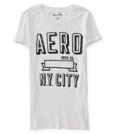 Aero Glitter Banner Graphic T - Aéropostale®