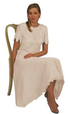 Amazon.com: Mother of the Bride Great Tea Legnth Dress in Plus Sizes and Missy: Clothing