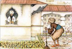 Anton pieck - De tuinman en de fakir