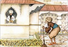 The gardener and the fakir - Tales of the Efteling by Martine Bijl and Anton Pieck