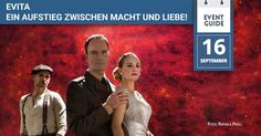 Evita das Musical im Ronacher Event Guide, Star Wars, Hollywood, Musicals, Lifestyle, Cards, Pictures, Film Director, Biography