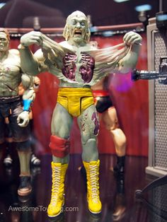 Zombie Hulk Hogan action figure