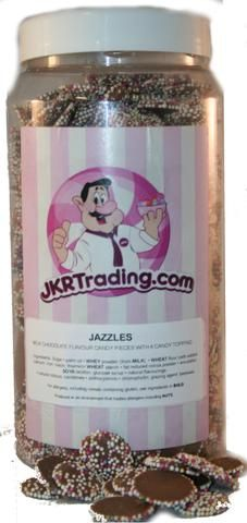 Milk Chocolate Jazzies sweet Jar A Gift Jar Full Of Jazzies Jar Sweet Jars, Whey Powder, Chocolate Topping, Jar Gifts, Palm Oil, Cocoa, Mason Jars, Oatmeal, Milk