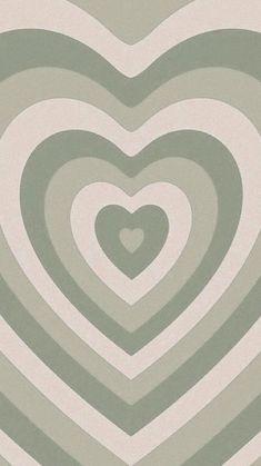 Iphone Wallpaper Green, Sage Green Wallpaper, Hippie Wallpaper, Homescreen Wallpaper, Heart Wallpaper, Iphone Background Wallpaper, Cute Patterns Wallpaper, Aesthetic Pastel Wallpaper, Aesthetic Wallpapers